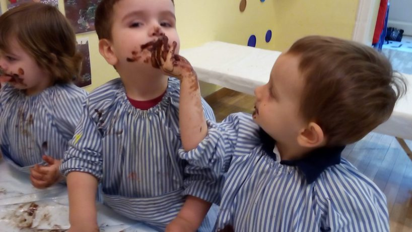 Experimentem amb xocolata!