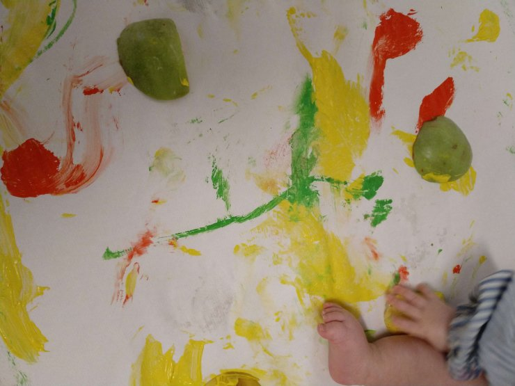 Pintem amb pomes!