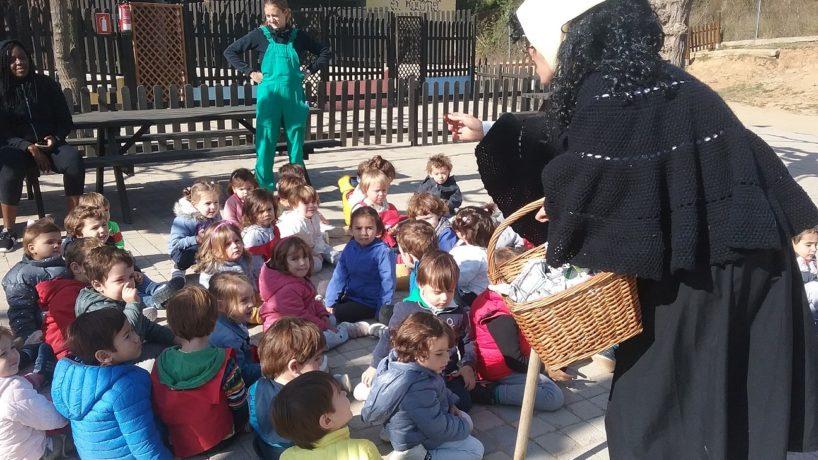 Els nens i nenes de P2 anem a la granja!