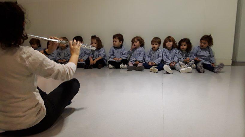 La música amb els nens i nenes de P2